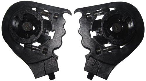LS2 Helmets Visor Replacement Side Plate for OF569 Helmets Black