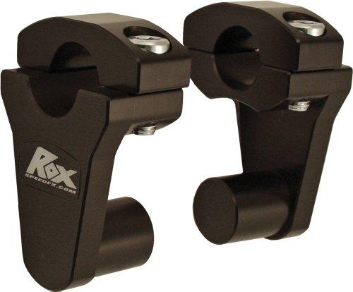 Rox Speed FX Pivot Handlebar 2 Riser 78Handlebar Black 1R-P2SS