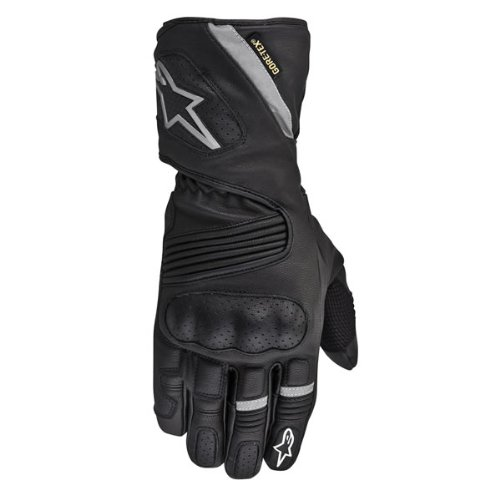 Alpinestars Wr-3 Gore-tex Gloves , Primary Color: Black, Size: 2xl, Distinct Name: Black, Gender: Mens/unisex,