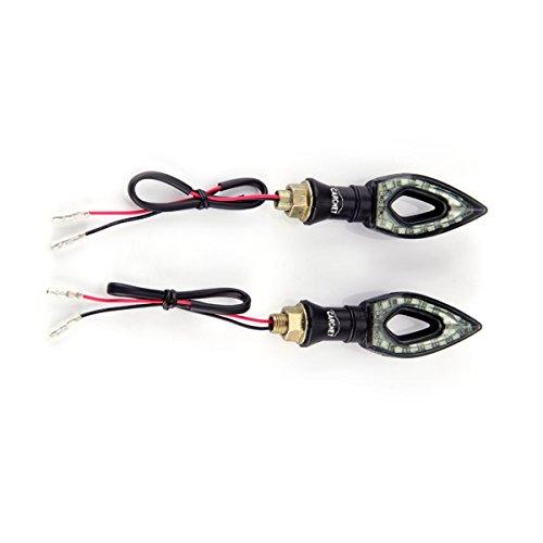 2 Carchet Motorcycle Motorbike Amber 12 Smd Led Turn Signal Light Bulb Indicator