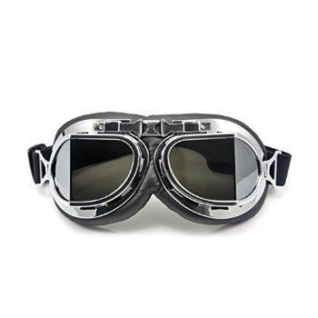 Neverland Restoration Style Bike / Bicycle / Pilot / Cruiser / Ski Glasses (gray Lens) Goggles [parallel Import