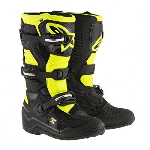Alpinestars Tech 7S Youth Motocross Boots - BlackYellow - Youth 4
