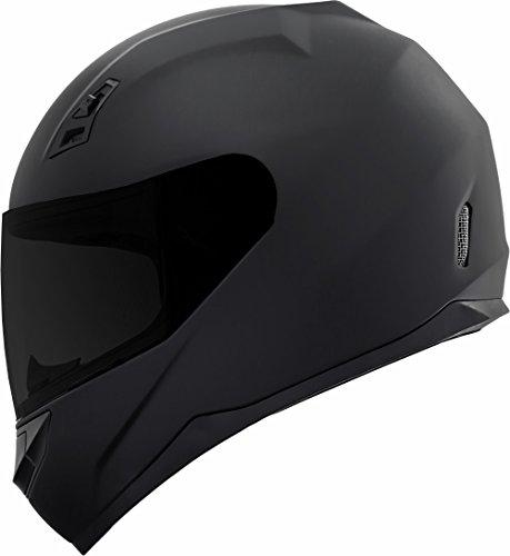 DK-140 Matte Black Full Face Motorcycle Helmet Duke Series FREE Tinted Visor