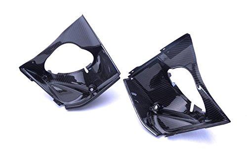 Bestem CBBU-ROD-MT Full Carbon Fiber Twill Press Molded Radiator Outlet Duct EBR 1190 RX SX LR