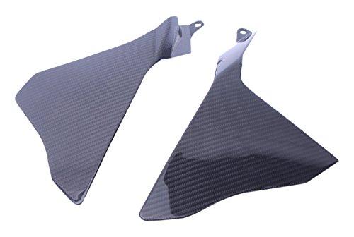 Bestem CBYA-R115-SPNU-MT Full Carbon Fiber Upper Side Panels LR in Twill Weave for Yamaha R1 2015 2016
