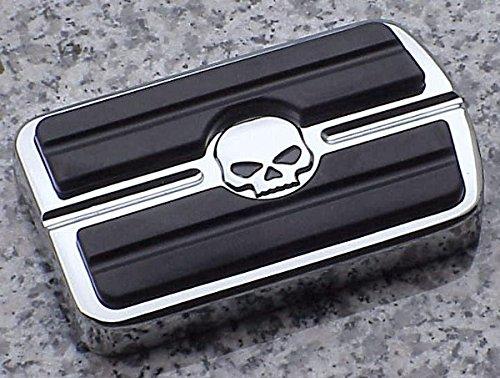 I5® Chrome Skull Rear Brake Pedal Cover For Harley Davidson.