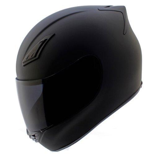 Duke Helmets DK-120 Full Face Motorcycle Helmet XX-Large Matte Black