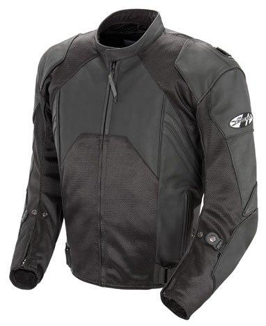 Joe Rocket Radar Men's Motorcycle Jacket (black, Size 44)