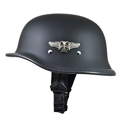 Daytona Big German Novelty Motorcycle Helmet w Road Wings X-Large