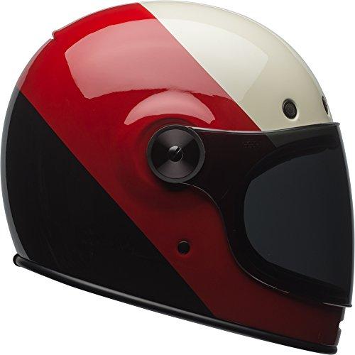 Bell Bullitt Classic Helmet - Triple Threat Red  Black - Large