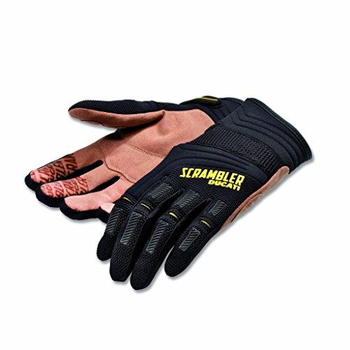 Ducati Scrambler Overland Gloves - BlackTan Large