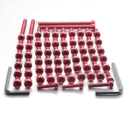 Aluminium Engine Kit Ducati 750SS Red