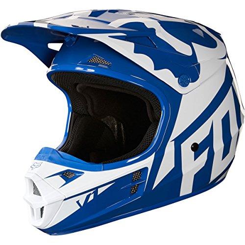 2018 Fox Racing V1 Race Helmet-Blue-M