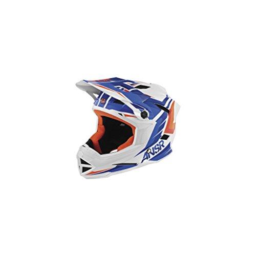 Answer BMX Faze Helmet Blue Orange Youth Size Large