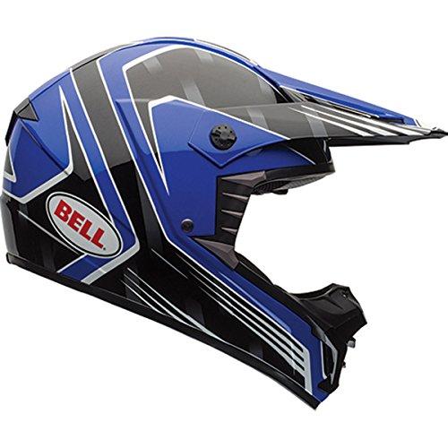 Bell Race Mens SX-1 MX Motorcycle Helmet - Blue  Medium