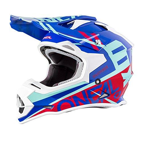 ONeal 2SERIES Mens Off-Road SPYDE Helmet BlueRed Large