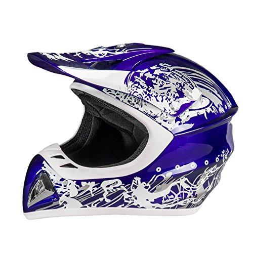 Raider Adrenaline MX Helmet Blue X-Large