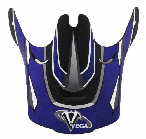 Vega Graphic Replacement Visor for NBX-1 Off-Road Helmet Blue
