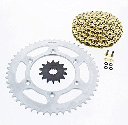 2007 KTM 525 EXC CZ ORHG Gold X Ring Chain Sprocket 1450 120L