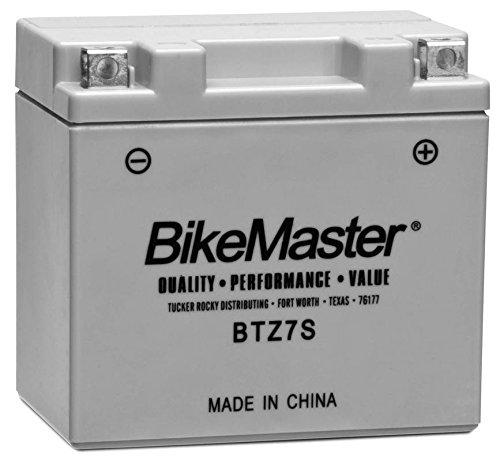 New BikeMaster High-Performance Maintenance Free Motorcycle Battery - 2005-2007 KTM 525 EXC Racing