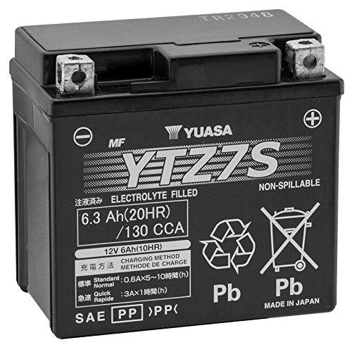 New Yuasa High-Performance Maintenance Free Motorcycle Battery - 2005-2007 KTM 525 EXC Racing
