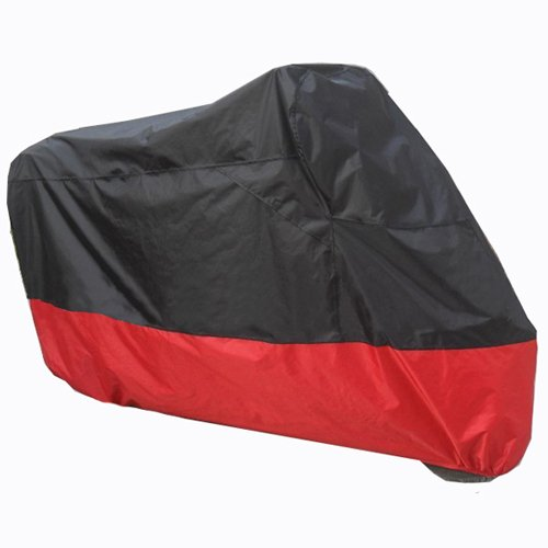 Black Red Motorcycle Cover For KTM 450 530 EXC Motocross Motorcycle Dirt UV Dust Protector L