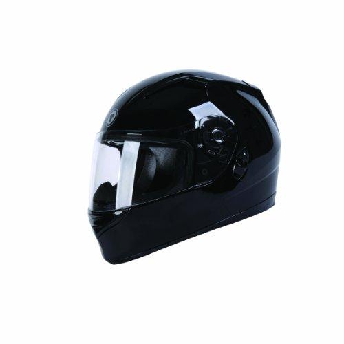 TORC T12B Blade Full Faced Helmet with Blinc 20 Stereo Bluetooth Black Medium