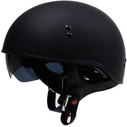 TORC T55 Spec-Op Half Helmet Flat Black Large