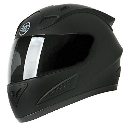 Torc T-10 Prodigy Flat Black Full Face Helmet - X-Small