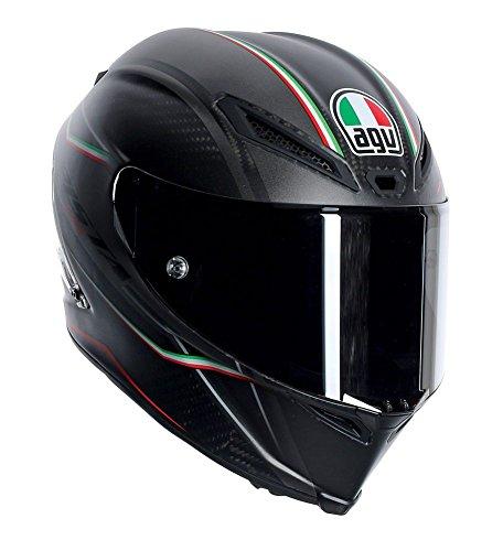AGV Pista GP Adult Gran Premio Italia Street Motorcycle Helmet - GreenWhiteRed  X-Large