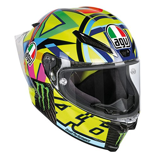 AGV Pista GP R Carbon Rossi Soleluna 2016 Helmet Size MS - DOT-Approved