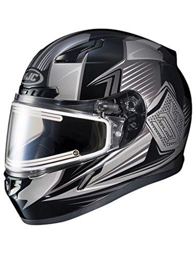 HJC CL-17 Electric Striker Mens Snowmobile Helmets - Black - Small