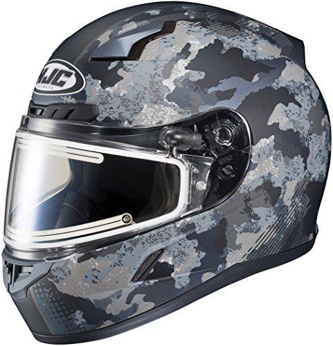HJC CL-17 Void Mens Electric Snowmobile Helmets - Black - Medium