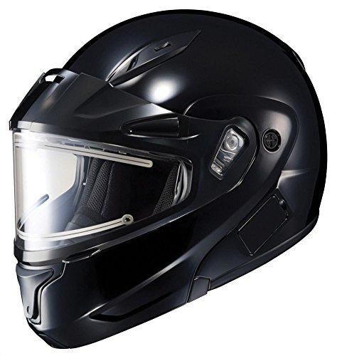 HJC CL-Max II BT Electric Mens Snowmobile Helmets-Black-2X-Large