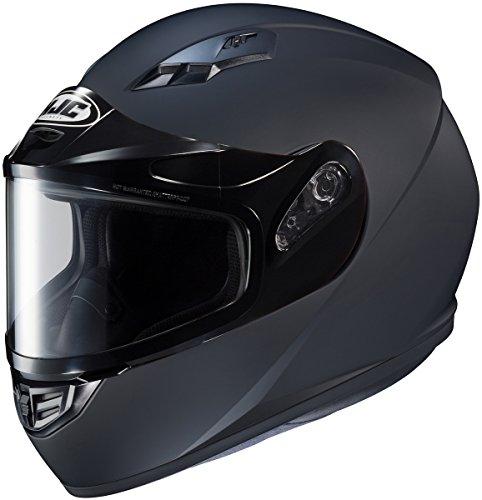 HJC CS-R3 Solid Mens Snowmobile Helmets - Black - Small