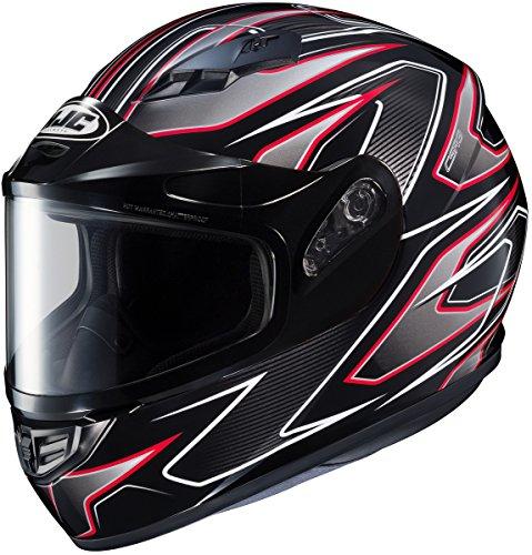 HJC CS-R3 Spike Mens Snowmobile Helmets - Red - Large