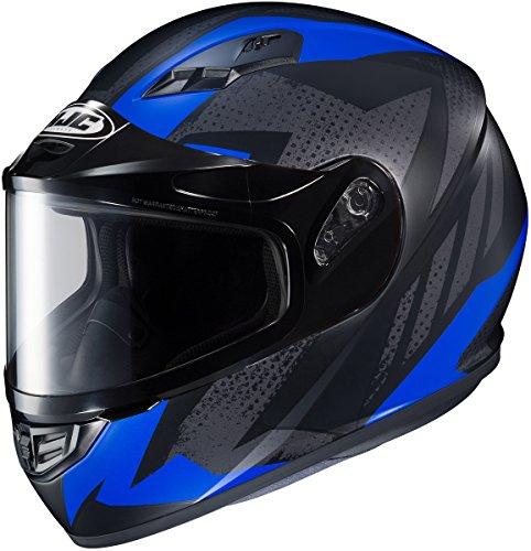 HJC CS-R3 Treague Mens Snowmobile Helmets - Blue - 2X-Large