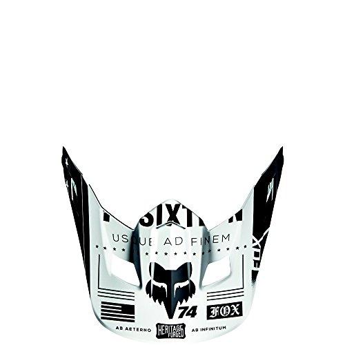 Fox Racing MX16 V2 HELMET VISOR-UNION WHT OS WHT One Size 15853-008-OS