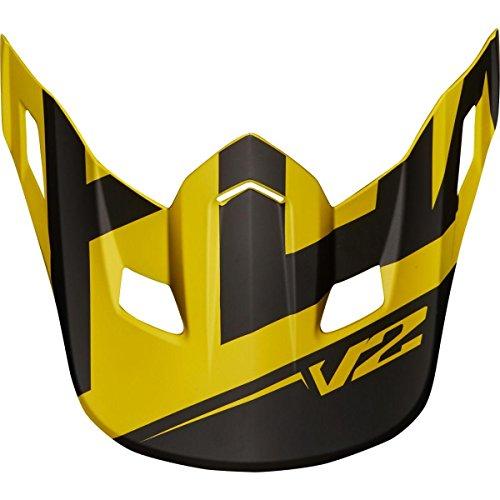Fox Racing Mx18 V2 Helmet Visor - Preme - 21300 Dark Yellow - One-Size