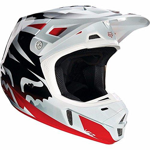 Fox Racing V2 Helmet RedWhite Size Small 14403-054-S