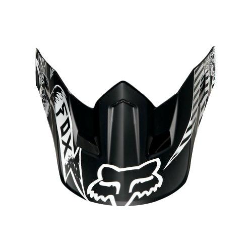 Fox Racing Valkari Visor Mens V2 MotoX Motorcycle Helmet Accessories - Black  One Size