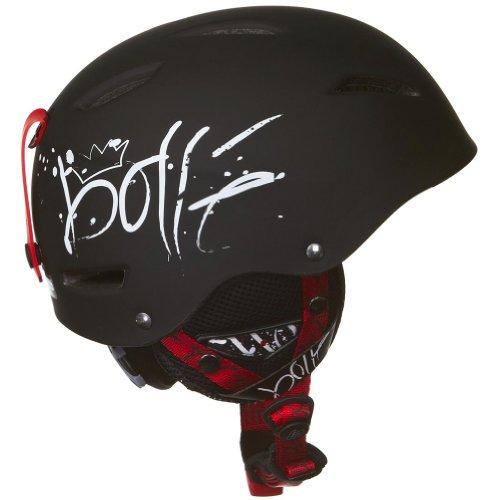 Bolle Unisex B-Style Snocross Snowmobile Helmet Soft Black Graffiti X-SmallSmall