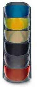 HJC Dual Lens Fog Free Shield FG-8 Snocross Snowmobile Helmet Accessories - Color Clear