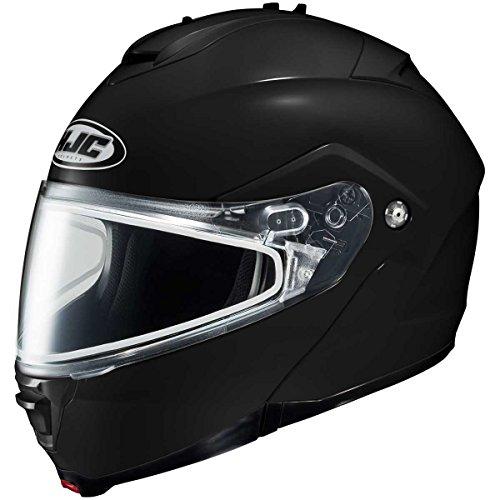 HJC Solid Adult IS-Max 2 Snocross Snowmobile Helmet - Black  2X-Large