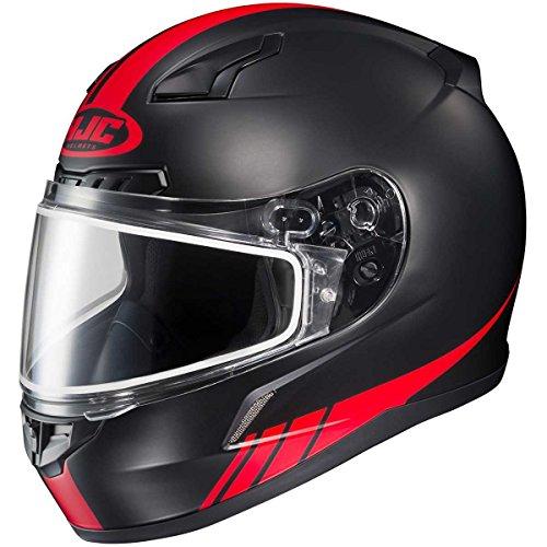 HJC Streamline Adult CL-17 Snocross Snowmobile Helmet - MC1F  X-Large