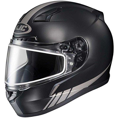 HJC Streamline Adult CL-17 Snocross Snowmobile Helmet - MC5GF  Large