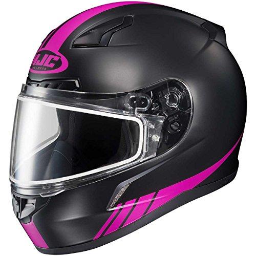 HJC Streamline Adult CL-17 Snocross Snowmobile Helmet - MC8F  Medium