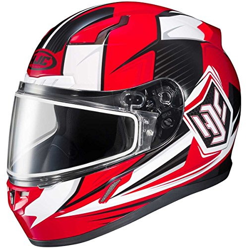 HJC Striker Adult CL-17 Snocross Snowmobile Helmet - MC-1  2X-Large