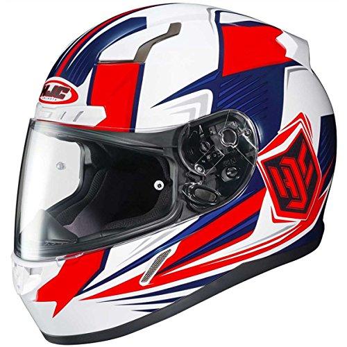 HJC Striker Adult CL-17 Snocross Snowmobile Helmet - MC-1H  Large