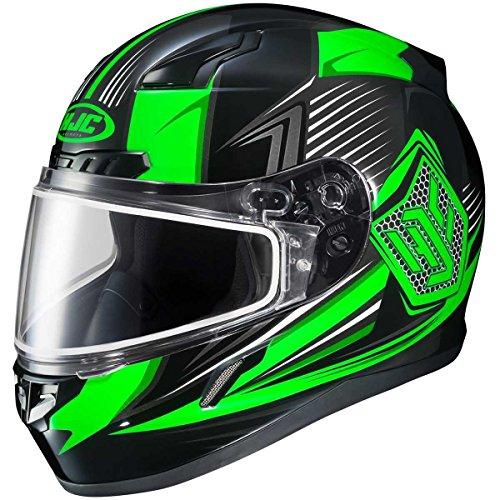 HJC Striker Adult CL-17 Snocross Snowmobile Helmet - MC-4  Small